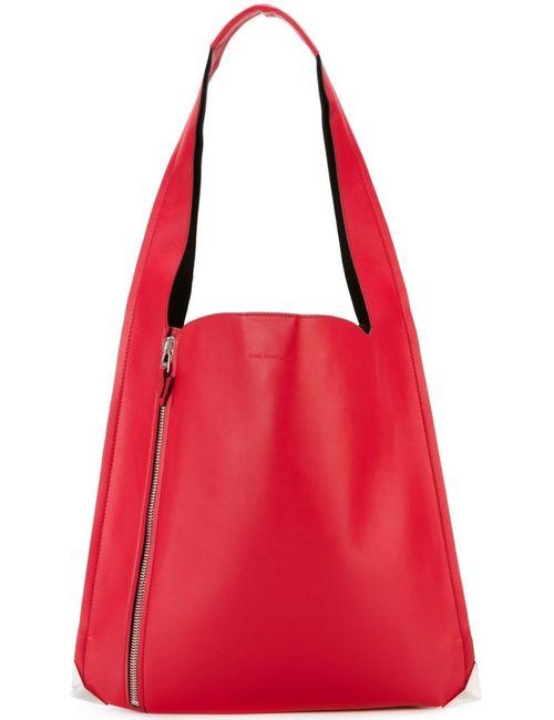Elena Ghisellini | Женское Красный Front Zip Shoulder Bag