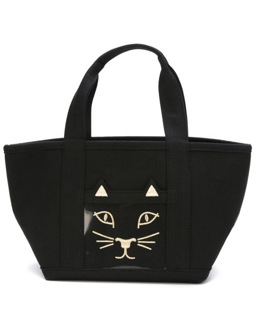 Charlotte Olympia | Женское Черный Embroidered Cat Tote