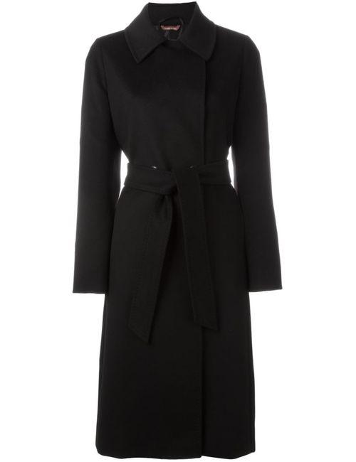 Max Mara | Женское Чёрное Пальто Zic