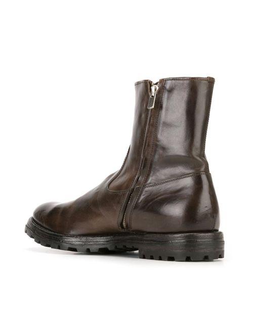 Officine Creative | Мужские Коричневые Ботинки Komma