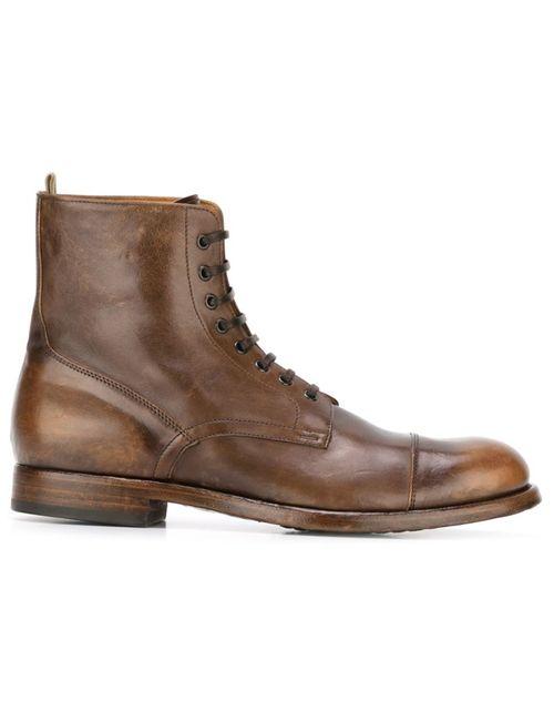 Officine Creative | Мужские Коричневые Ботинки Tempus