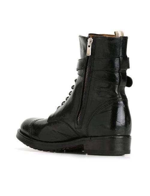 Officine Creative | Женские Чёрные Ботинки Lavette