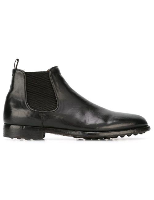 Officine Creative | Мужские Чёрные Ботинки Vautier