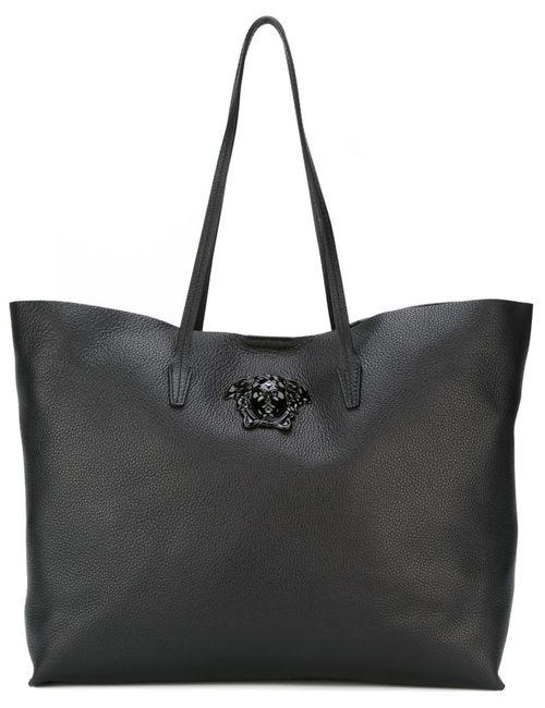 Versace | Женская Чёрная Сумка-Тоут Medusa