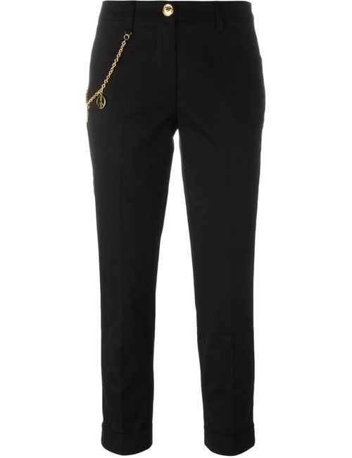 Love Moschino | Женское Чёрный Chain Detail Cropped Trousers