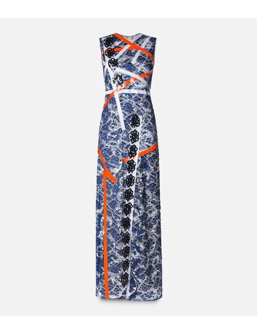 Christopher Kane | Женское Синий Floor Length Tape Dress