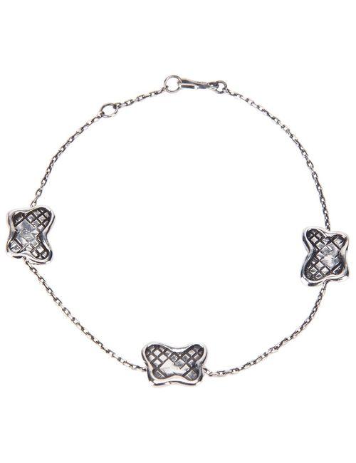Bottega Veneta   Женское Серебристый Butterfly Bracelet