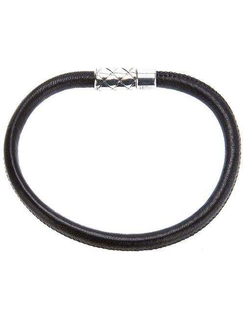 Bottega Veneta | Мужское Чёрный Leather Bracelet
