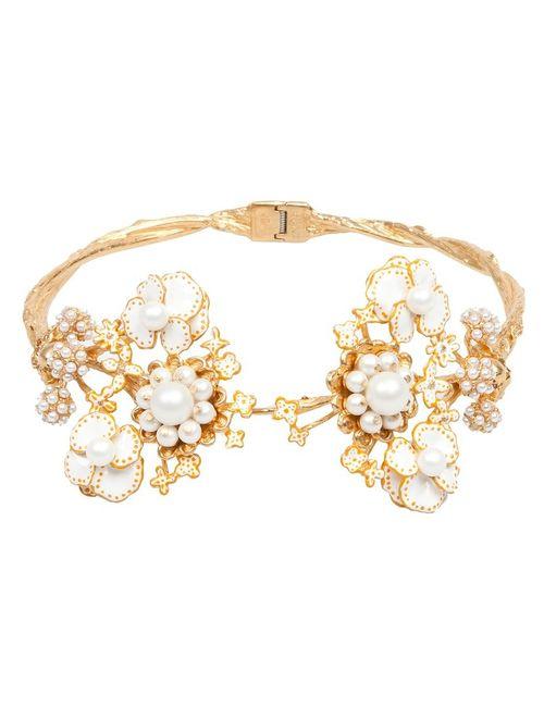 Alexander McQueen   Женское Torque Bracelet
