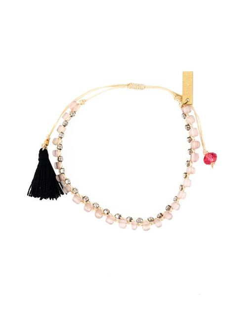 Isabel Marant | Женское Розовый Beaded Tassel Bracelet