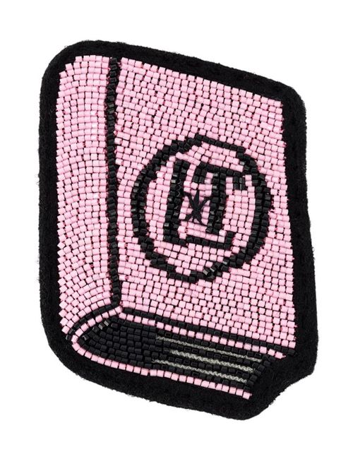 Olympia Le-Tan | Женская Розовая Брошь В Виде Книги