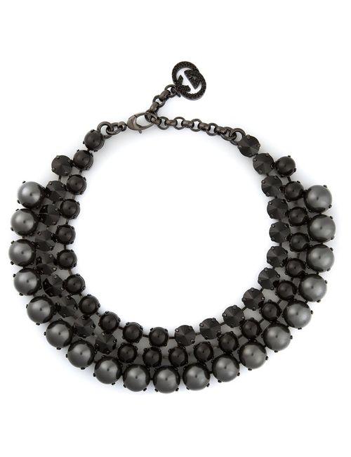 Gucci | Женское Черный Embellished Necklace