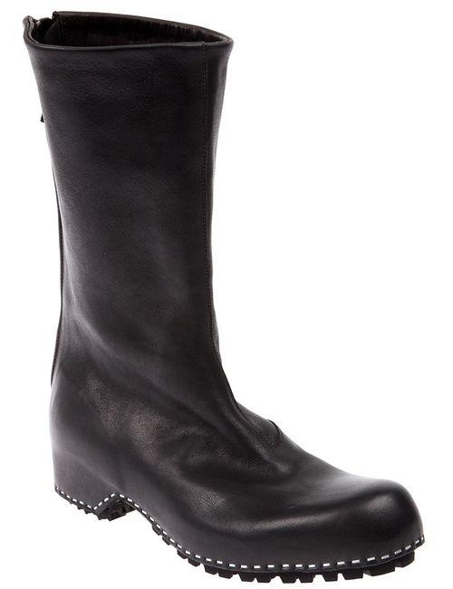 Premiata | Женское Черный Round Toe Boot