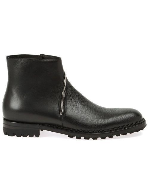 Balenciaga   Мужское Чёрный Zip Ankle Boots