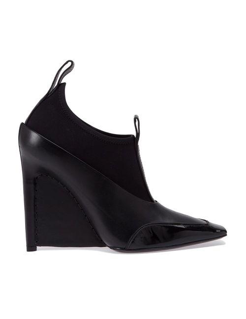 Balenciaga | Женское Чёрный Wedge Ankle Boots