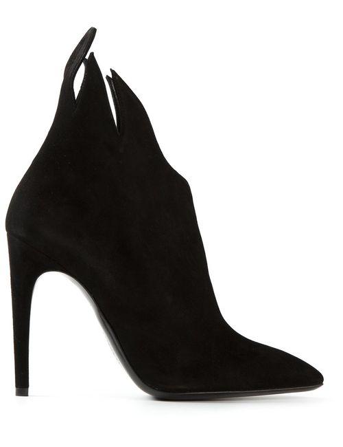 Bottega Veneta | Женское Чёрный Jagged Accent Boots