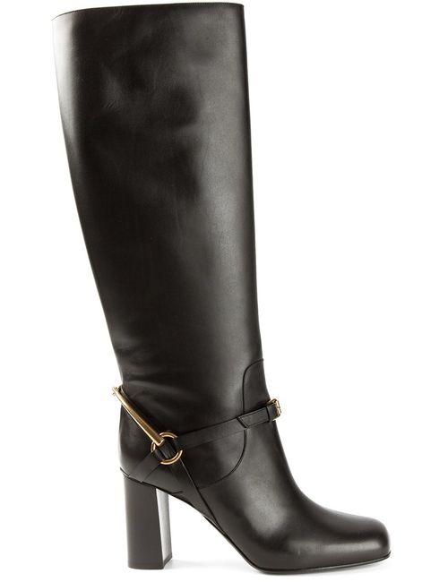 Gucci | Женское Чёрный Knee High Boots