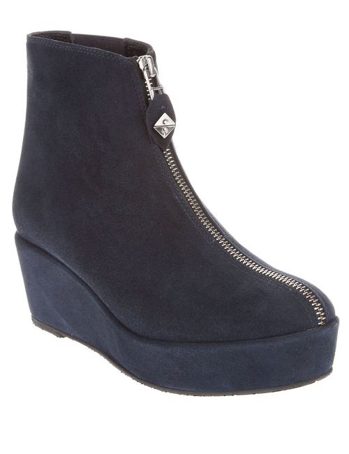Opening Ceremony | Женское Синий Zip Through Ankle Boot