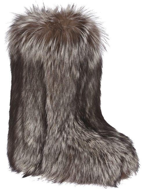 Liska | Женское Черный Fox Fur Boot