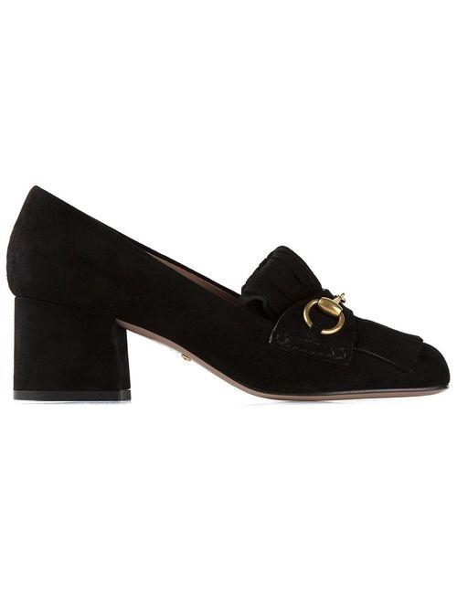 Gucci | Женское Черный Tasseled Loafers