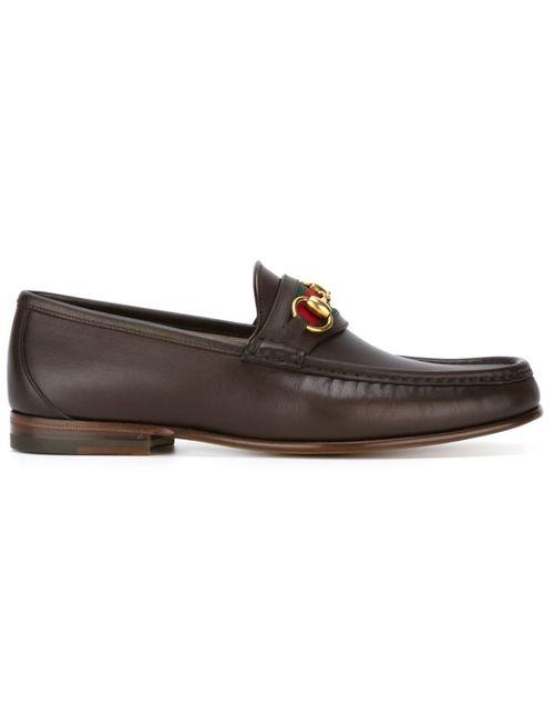 Gucci   Мужское Коричневый Horsebit Loafers