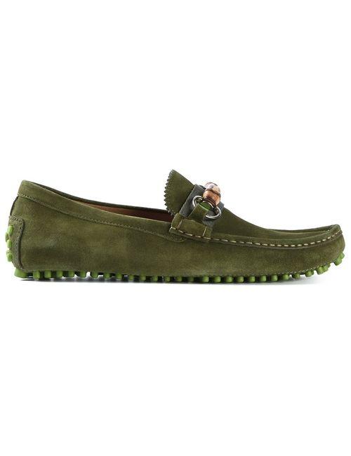 Gucci | Мужское Зелёный Driving Shoes