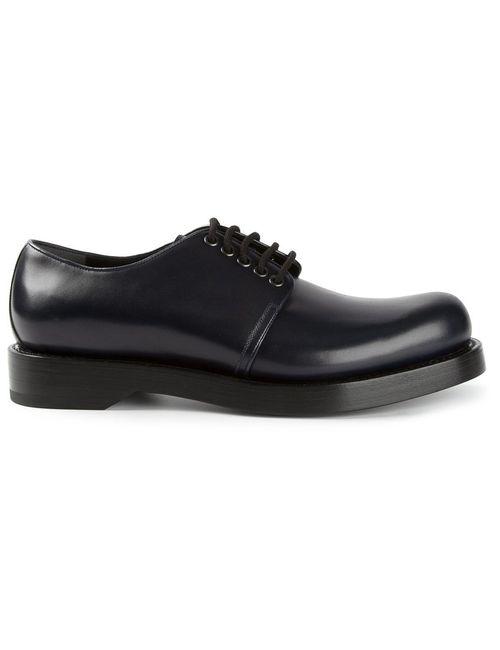 Gucci | Мужское Чёрный Lace-Up Shoes