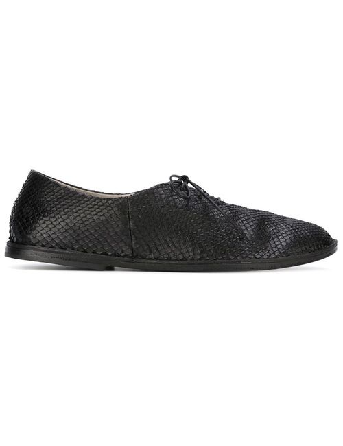 Marsell | Женское Чёрный Marsèll Python Skin Lace-Up Shoes