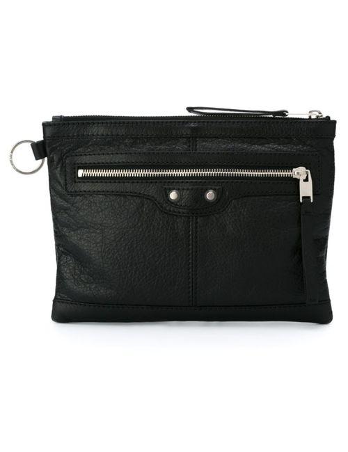 Balenciaga   Мужское Чёрный Zip Clutch