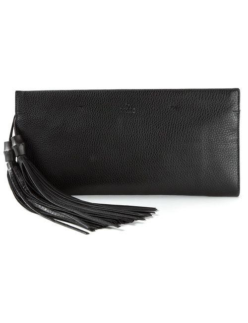 Gucci | Женское Черный Tassel Clutch