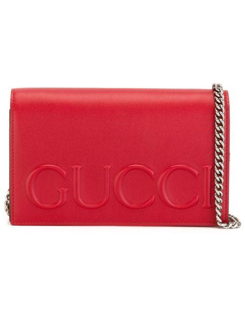 Gucci | Женское Красный Mini Chain Bag