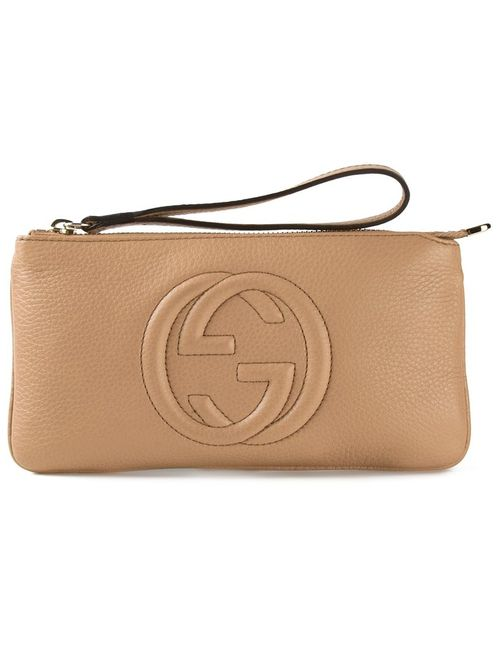 Gucci | Женское Nude & Neutrals Small Soho Clutch