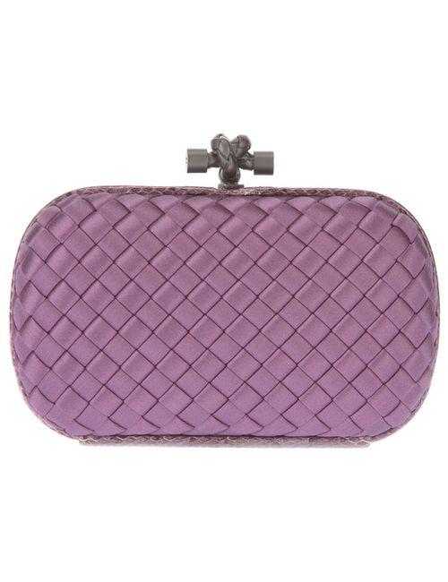 Bottega Veneta   Женское Розовый Knot Box Clutch
