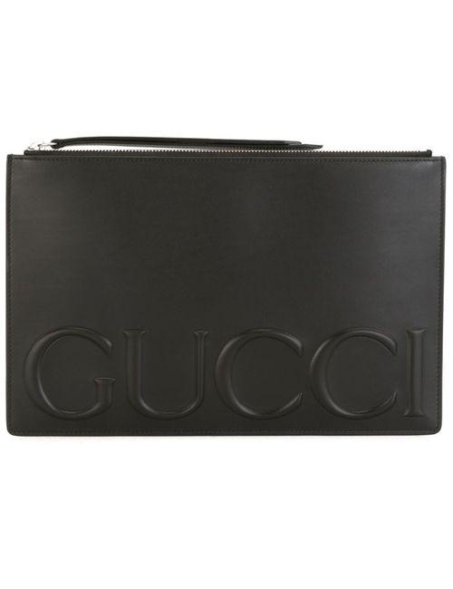 Gucci | Женское Чёрный Zipped Pouch