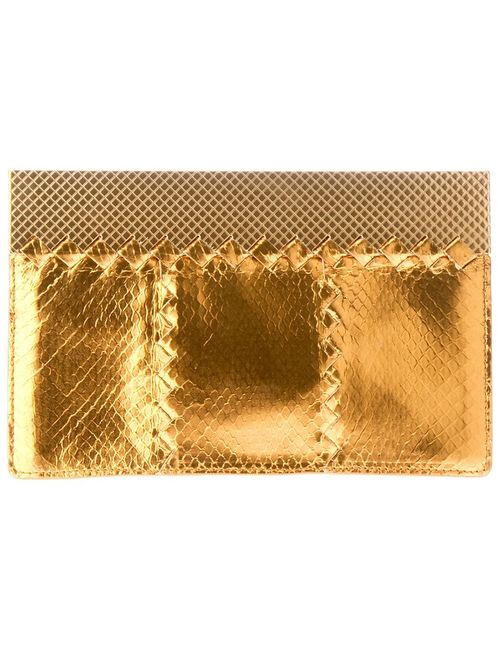Bottega Veneta | Женское Серебристый Snakeskin Clutch Bag