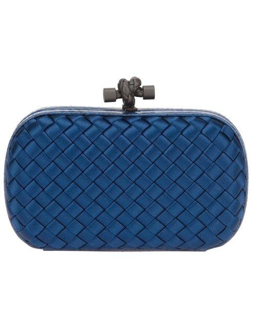 Bottega Veneta | Женское Синий Knot Box Clutch
