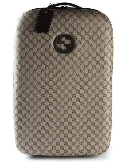Gucci | Nude & Neutrals Signature Monogram Luggage