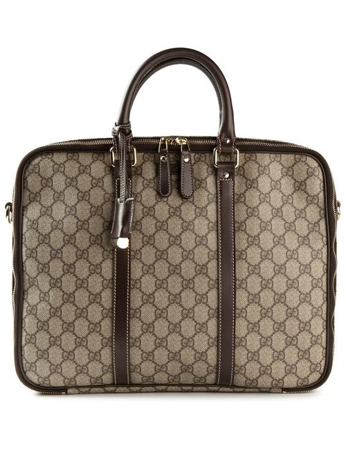 Gucci | Signature Monogram Laptop Bag