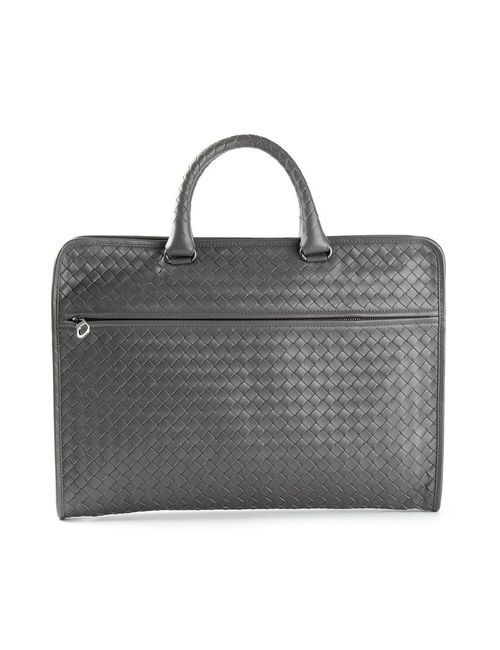 Bottega Veneta | Мужское Серый Intrecciato Briefcase