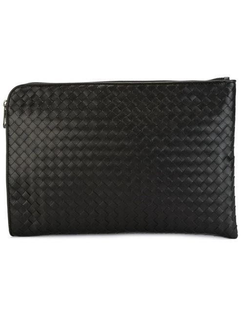Bottega Veneta | Мужское Черный Woven Laptop Briefcase