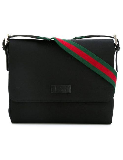Gucci | Мужское Чёрный Techno Messenger Bag