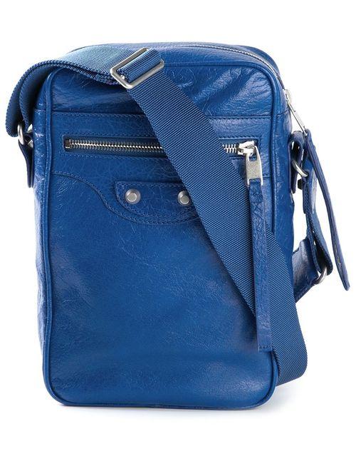 Balenciaga | Мужское Синий Reporter Messenger Bag