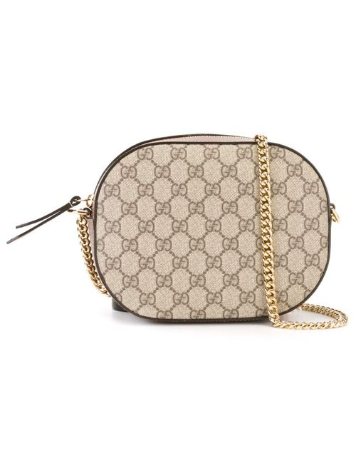 Gucci | Женское Коричневый Arabesque Gg Supreme Crossbody Bag