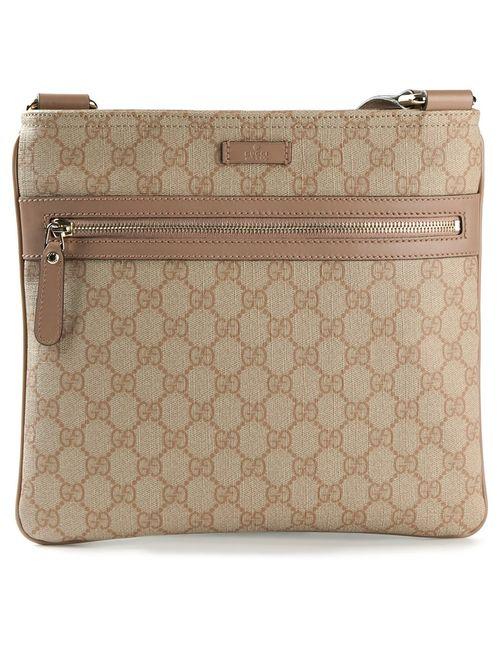 Gucci | Женское Nude & Neutrals Signature Monogram Cross Body Bag