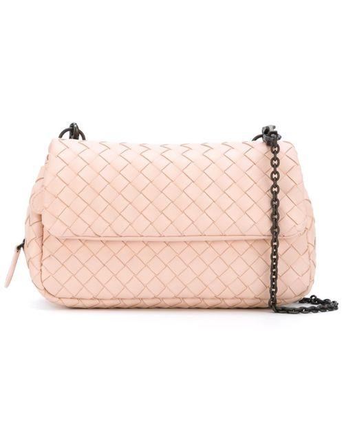 Bottega Veneta | Женское Розовый Intrecciato Crossbody Bag