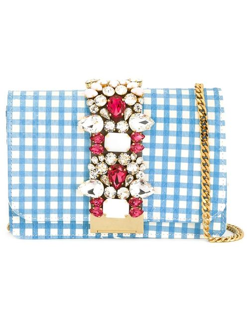 Gedebe | Женское Синий Embellished Crossbody Bag