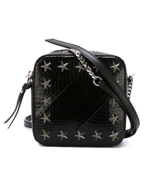 Jimmy Choo | Женское Чёрный Star Stud Crossbody Bag