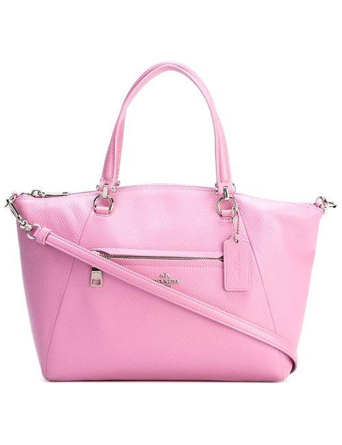 COACH   Женское Розовый Zip Pocket Tote