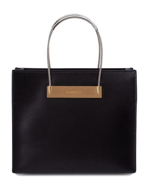 Balenciaga | Женское Чёрный Cable Shopper S Tote Bag