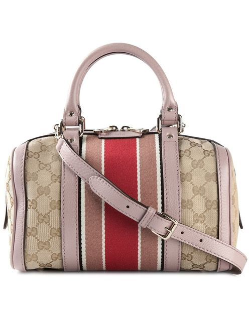 Gucci | Женское Розовый Mini Vintage Web Gg Tote